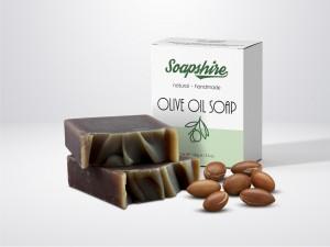 Argan Oil Handmade Natural Pie Soap 100g