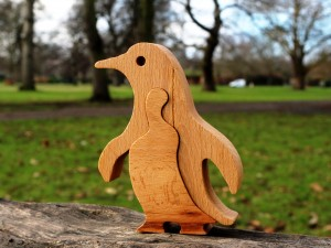 Penguin - Wooden Puzzle Toys
