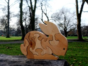 Rabbit - Wooden Puzzle Toys