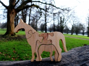 Horse - Wooden Puzzle Toys