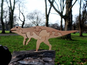 Dinosaur 2 - Wooden Puzzle Toys