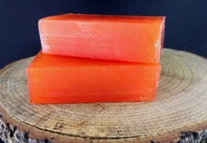 Mandarin Handmade Shiny Care Soap 100g