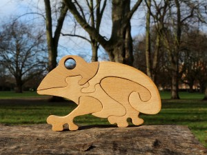 Frog - Wooden Puzzle Toys