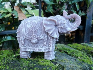 Elephant Handmade Candle-Brown