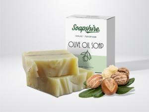 Shea Butter Handmade Natural Pie Soap 100g